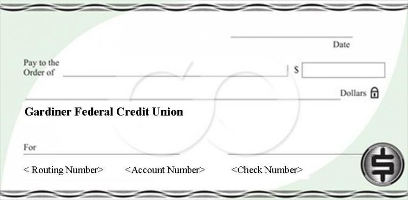 Credit Union Check