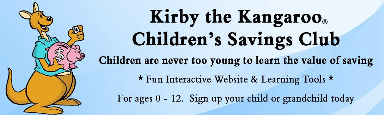 Kirby the Kangaroo Children's Savings Club