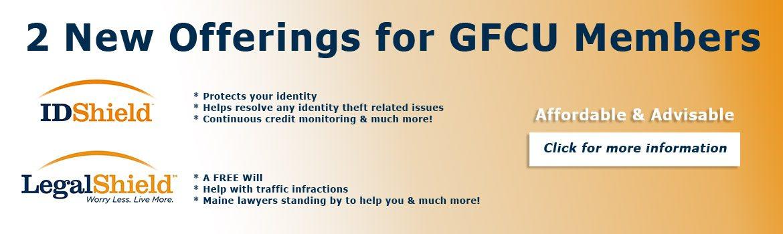 2 New Offerings for GFCU Members